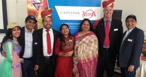 Capespan has acquired a 35 % stake in the Yupaa Group, one of India's largest diversified fruit importers and distributors